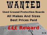 Old ground protection boards wanted
