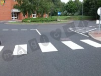 Road and car park markings