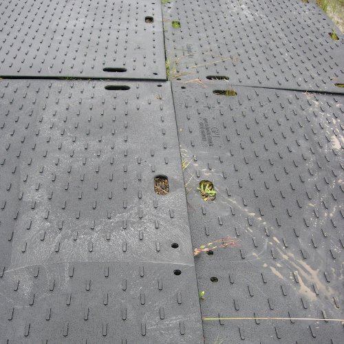 Ground Protection Mats Temporary Road Panels Portable